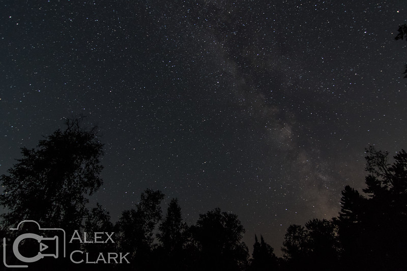 Night sky from campground