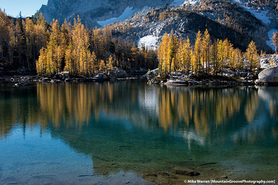 #21 - I won the lottery for a permit for the Enchantments the first weekend in October, after losing for several years in a row.  The larches are typically at their height during that weekend. Here is one of my favorite images of that trip.