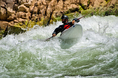 #4 - I captured kayaker Jeff Laxier, on Grand rapids, during our April backpacking trip in the Grand Canyon.  Amazingly, two of my FB friends knew and recognized Jeff!