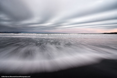 Stokesenes Beach, Iceland, in Nov.