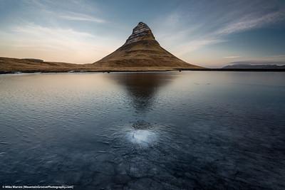 Kirkjufell Mtn, Iceland, in November