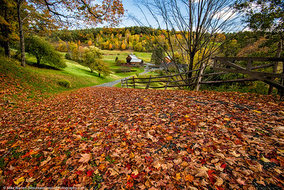 #9 - Fall foliage in Vermont during my trip back east in October.