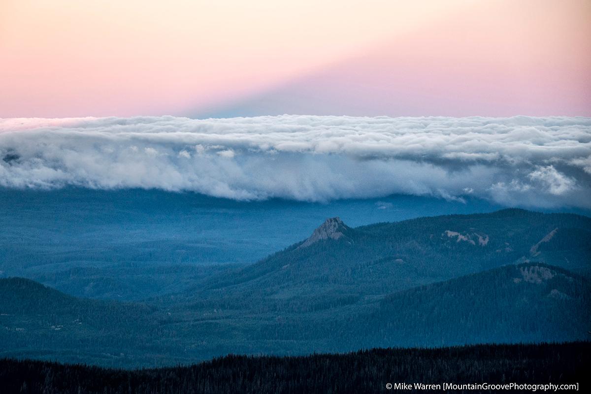 Shadow of Mt Adams