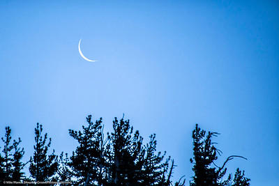 Sliver of a moon