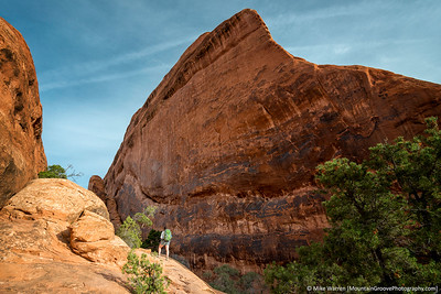 Hiking to Garden of the Gods.
