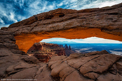 Mesa Arch, Canyonlands NP, Islands in the Sky district.