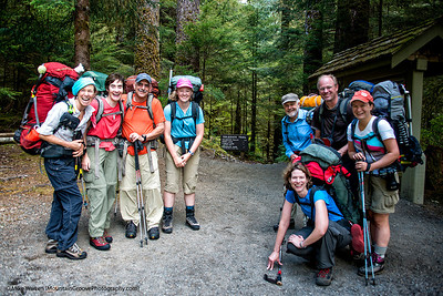 Sol duc trailhead, Day 1