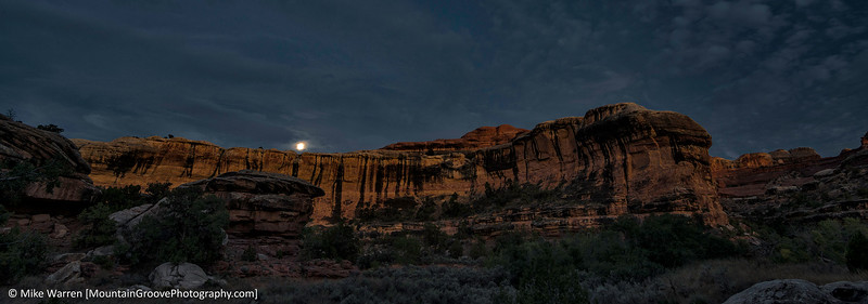 Moonrise, Lost Canyon