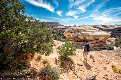 Heading toward Lost Canyon.