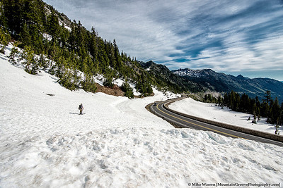 Chinook Pass.  The traverse can not be done until Hwy 410 opens, usually late May of each year.