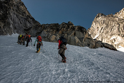 Headed onto the Colchuck glacier