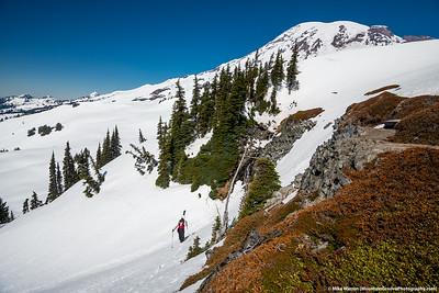 #30 - February, Cherie and Mt Rainier