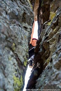 #20 - April, Pearl climbing at Vantage