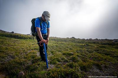 #10 - September, Victor after climbing Echo Rock, MRNP