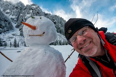 SnowmanSelfie!!!
