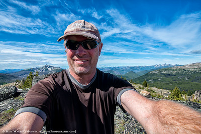 Selfie from the Rock Mtn summit