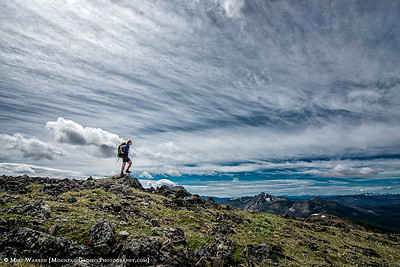 Armstrong Mtn false summit
