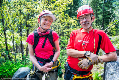 The RED twins!!   The best color for mountain photography!