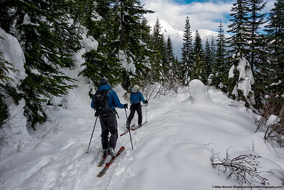Skinning on the PCT . . .