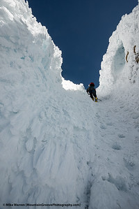 Steep and icy!