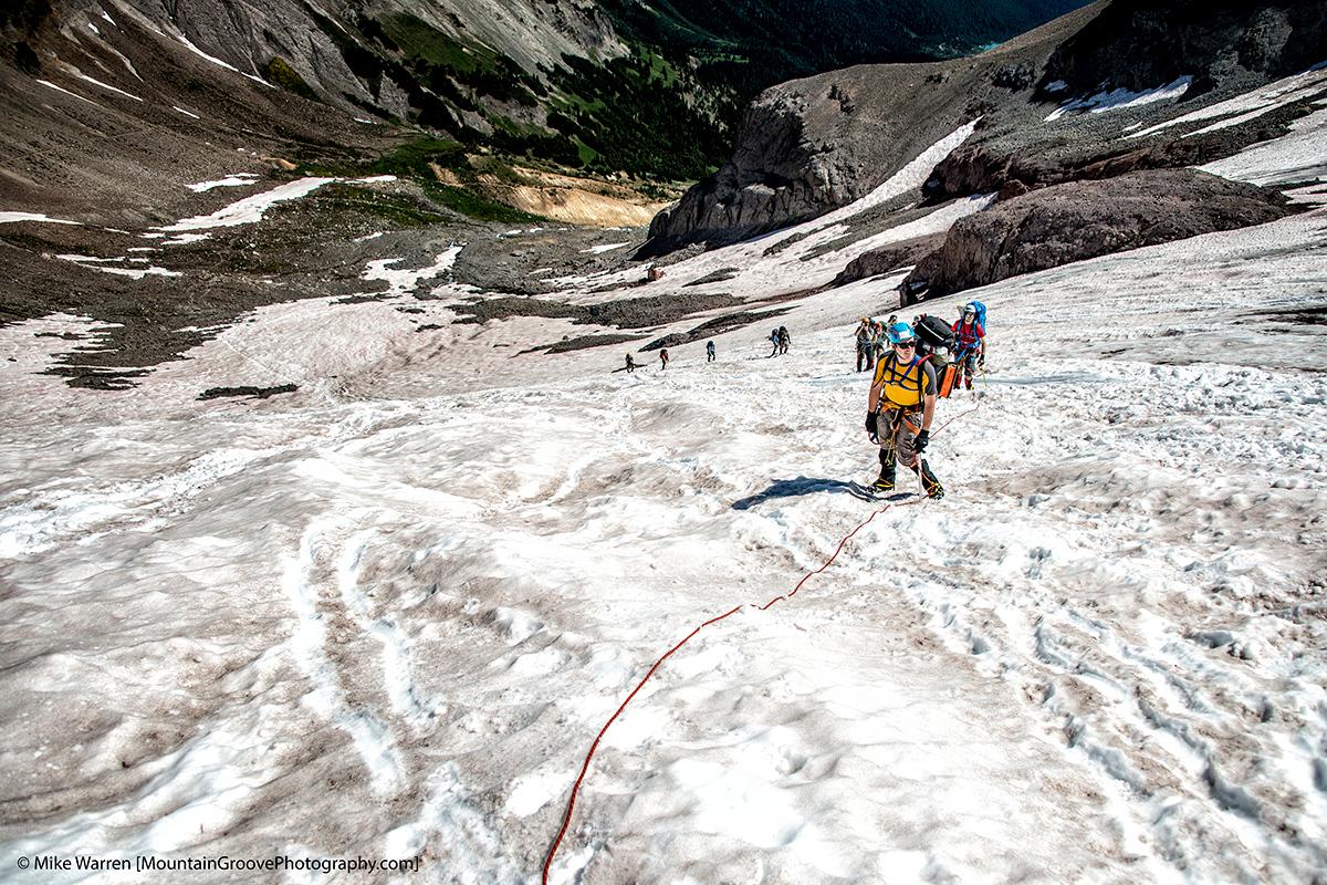 Ascending the Interglacier