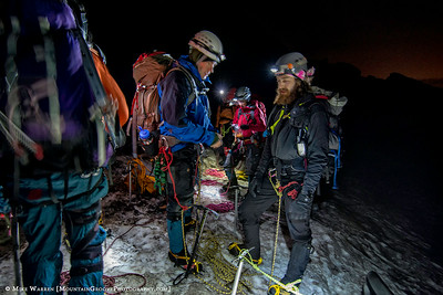 Climbers in the night!