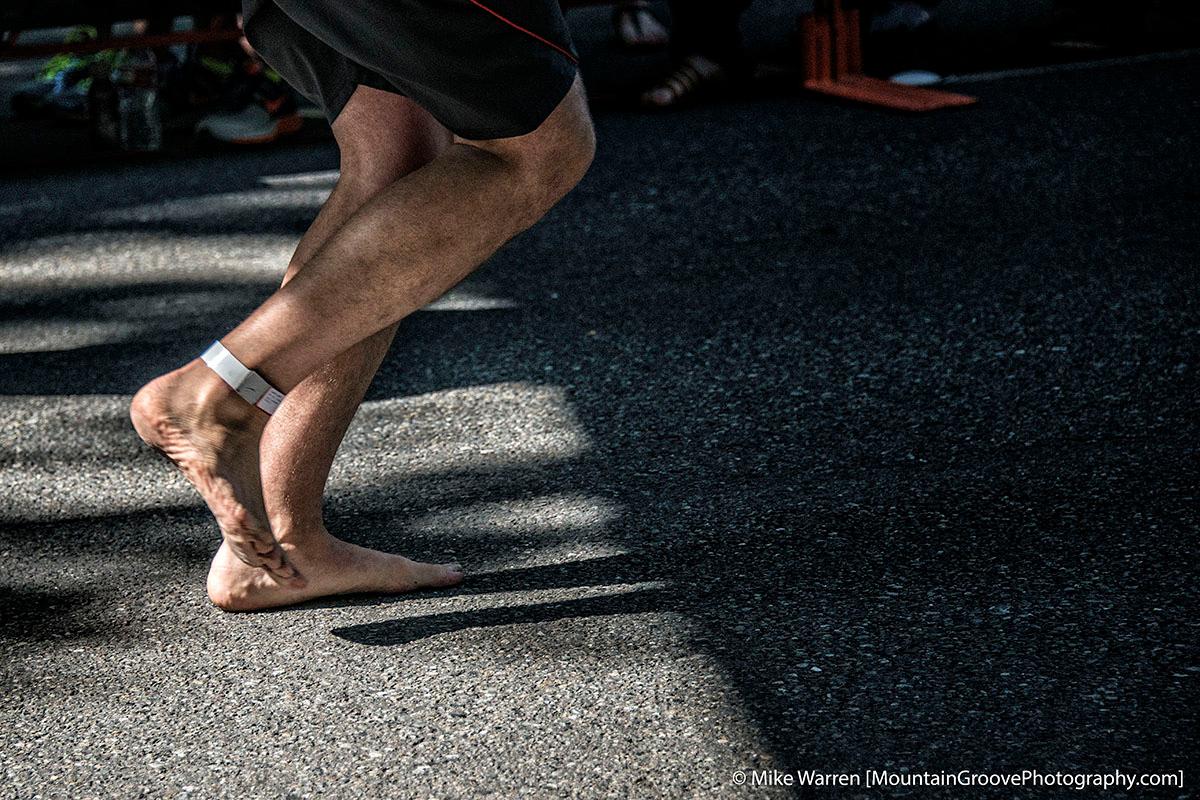 Barefoot 13.1 miles!