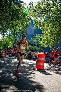 The Woman winner of the Marathon