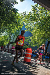 The 2nd place marathon finisher . . . I was too slow for the winner!