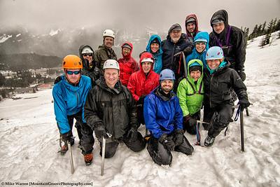 2013 SIG climbing group!