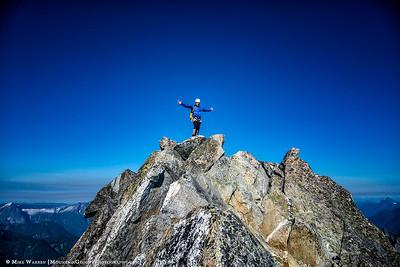 Greg on the summit