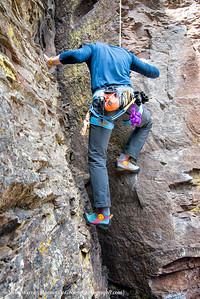 The headless climber!