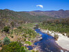 View downstream from McKillops Bridge, Snowy River, Victoria.