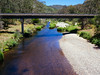 The new concrete bridge  over the Deddick River, Tubut, Victoria.