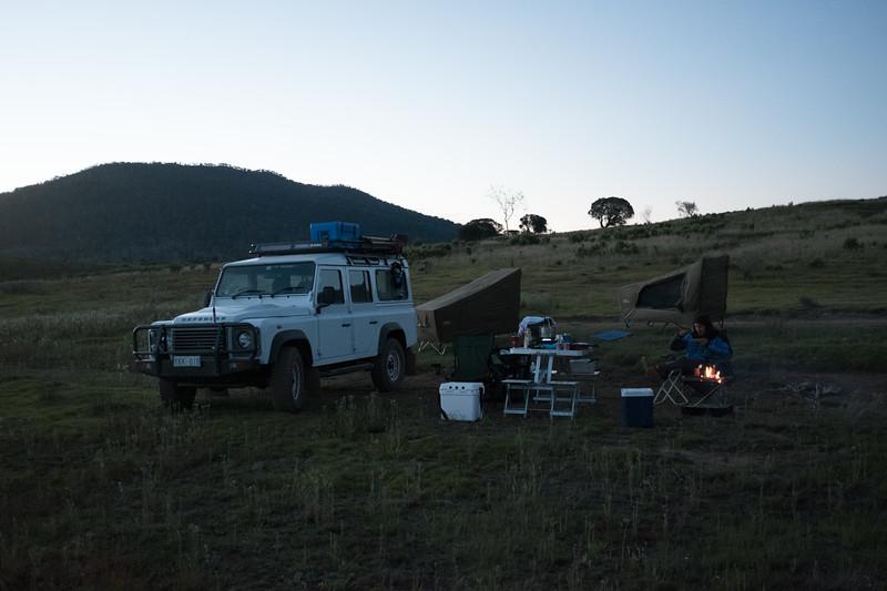 Tantagara Dam. Camp.