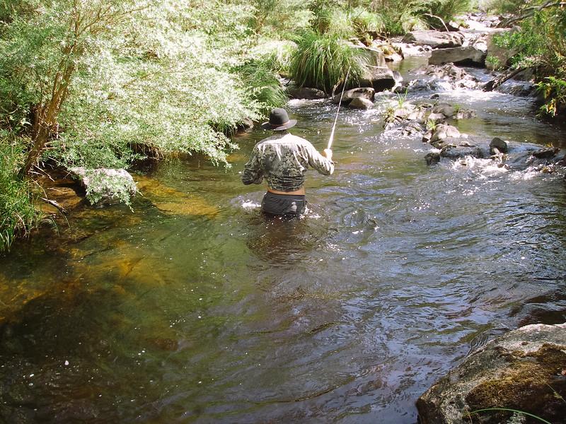 Ingeegoodbee River near Christine O'Rourke's Hut