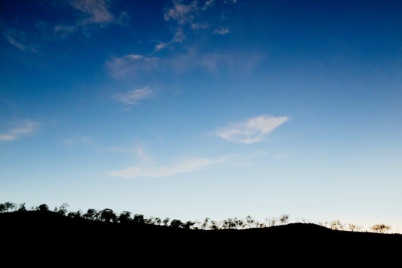 Tantagara Dam. Sunset.