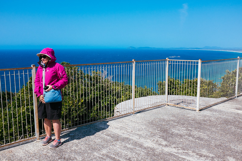 Whale watching at Smoky Cape Lighthouse, NSW