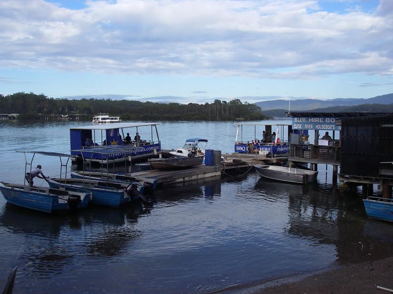 Batesman Bay, Fishing boat hire