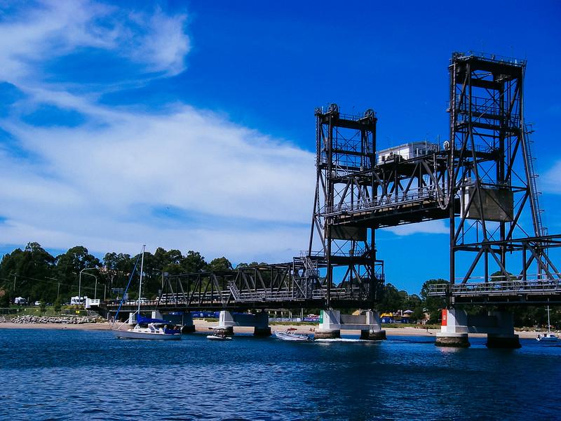 The lifted bridge