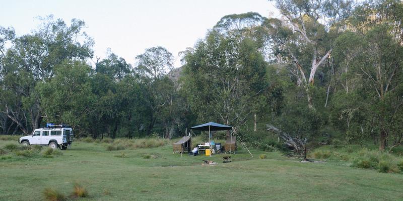 Limestone Creek Campground, Alpine National Park, Victoria