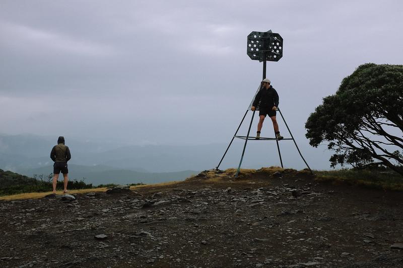 Mt Pinnibar summit