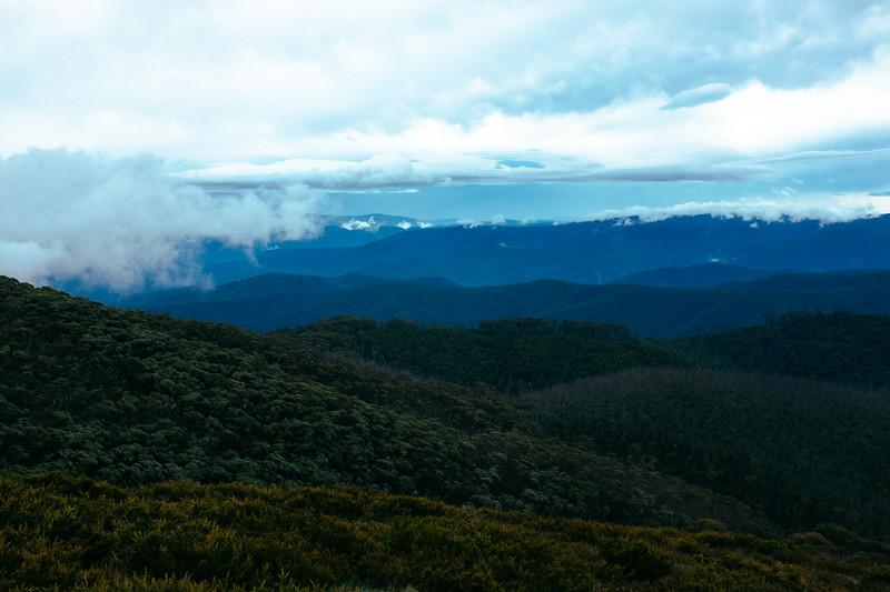 Wilderness from Mt Pinnibar
