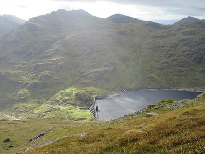 Loch Sloy dam