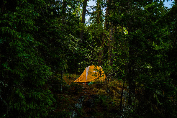 Matt/Jess's tent