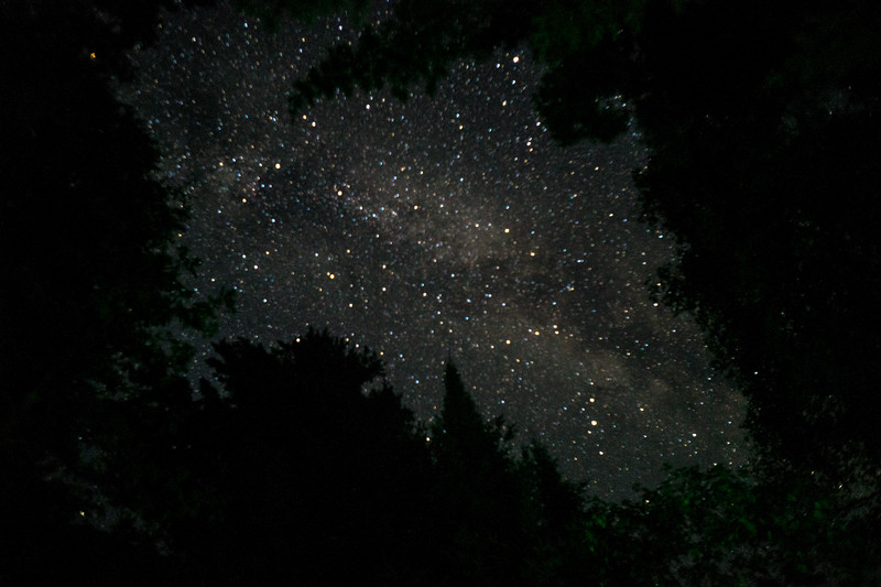 Wahoo we got a clear night so I can play with the stars.