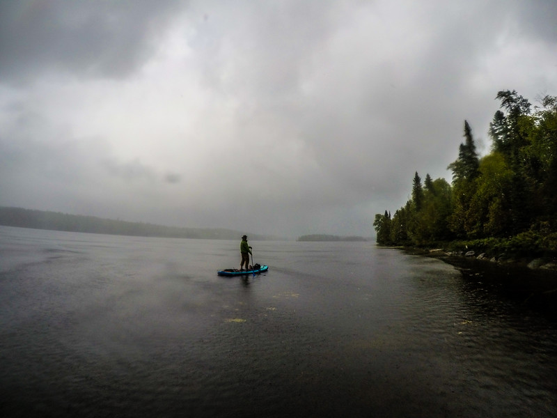 When in the Boundary Waters it will rain at some point on you.