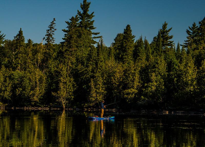 Morning fishing views