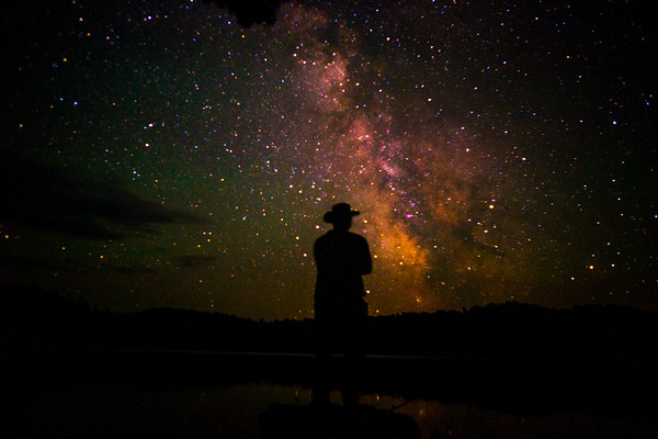 Adventure hat in the Milky Way