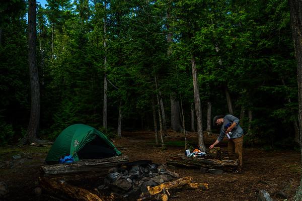 Getting camp setup